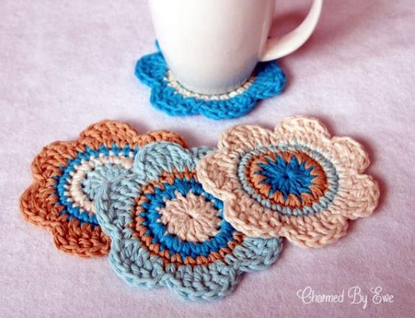 30 Free Crochet Flower Patterns Knitting Lovers
