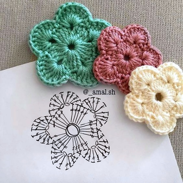 40 Free Crochet Flower Patterns Knitting Lovers Amazing Crochet Flowers Patterns