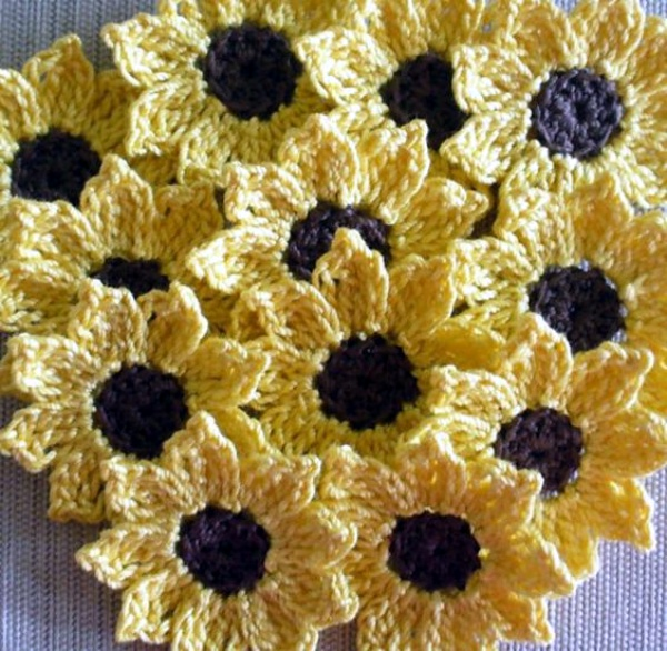 30 Free Crochet Flower Patterns Knitting Lovers