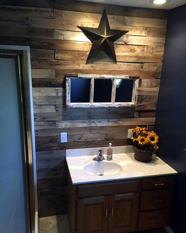 Rustic Bathroom Design Ideas: 40 Movie Style Rustic Bathroom Decor Ideas