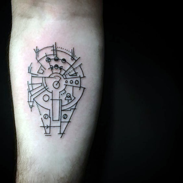 40 No-Ordinary Line Tattoo Designs
