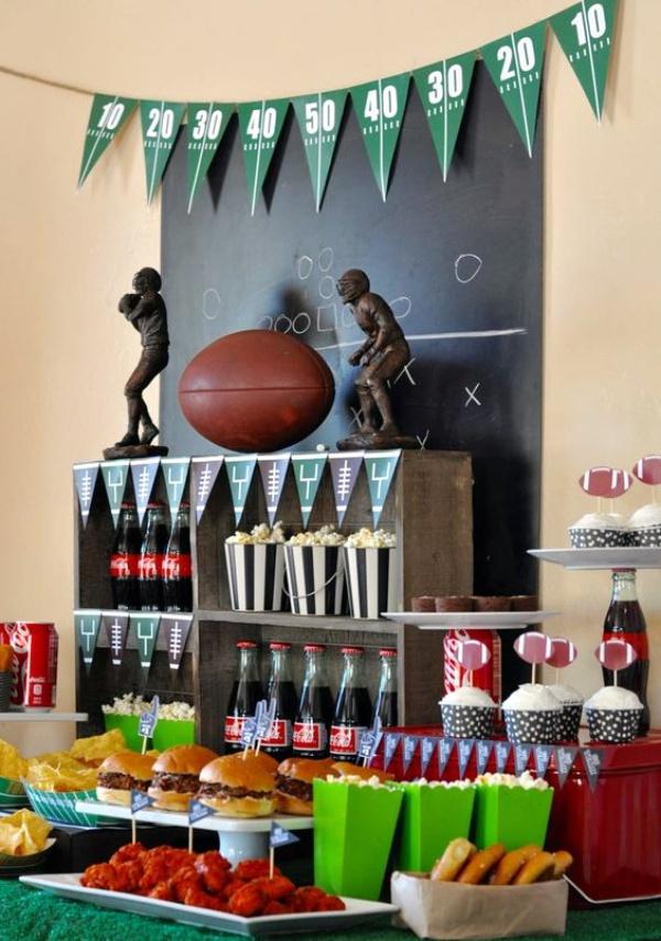 30 Super Bowl Party Amp Decoration Ideas
