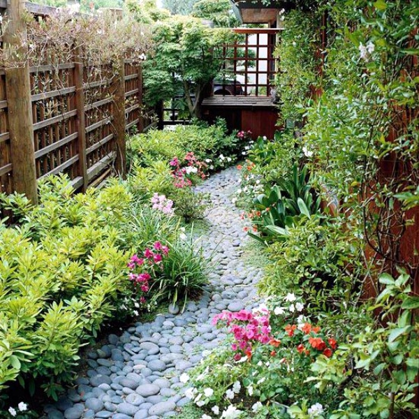Various Front Yard Ideas For Beginners Who Want To: 40 Different Garden Pathway Ideas