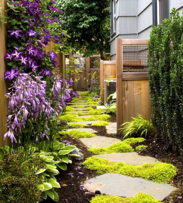 40 different garden pathway ideas for Told in a garden designs
