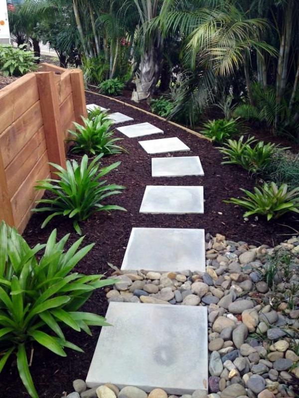 40 Different Garden Pathway Ideas on Backyard Pathway Ideas id=22678