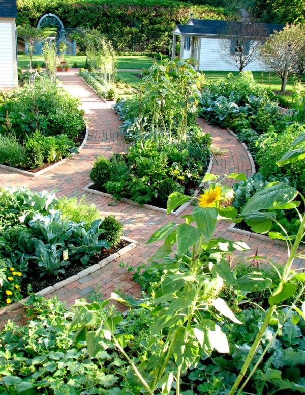 40 different garden pathway ideas for Different landscape design