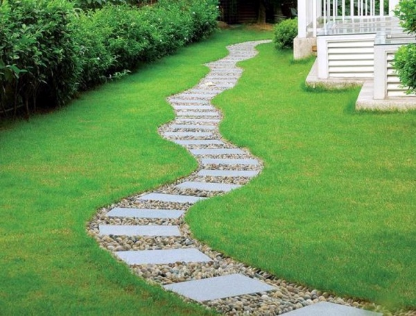 Enchanting Small Garden Landscape Ideas With Stepping Walk: 40 Different Garden Pathway Ideas