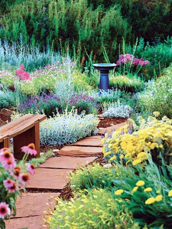 40 different garden pathway ideas for Different garden designs