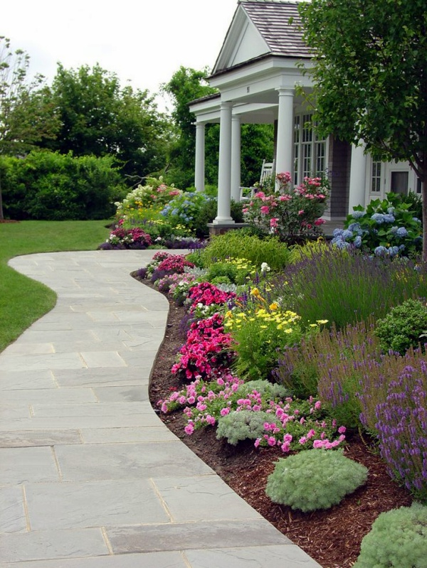 40 different garden pathway ideas for Garden design ideas dublin