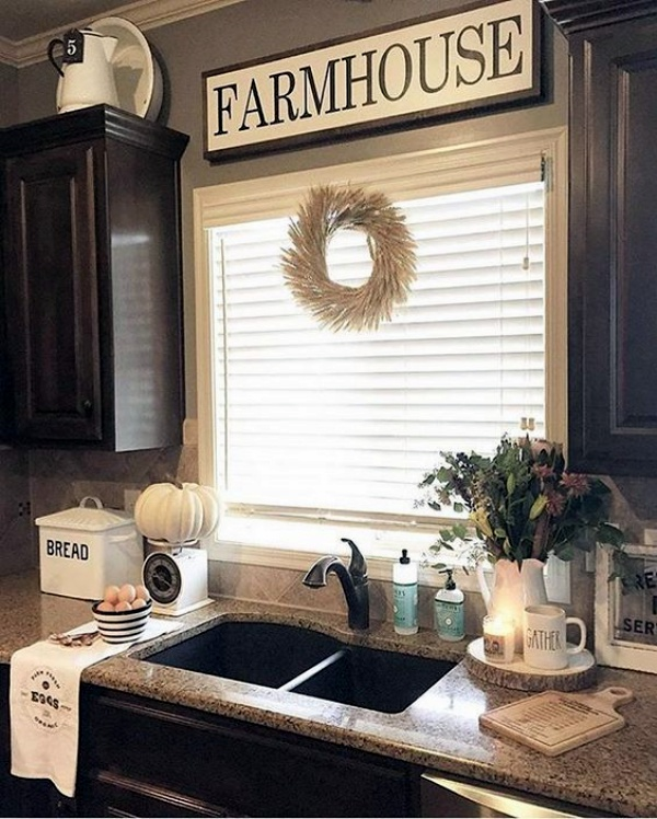 Home Decor Kitchen Ideas: 40 Like-Old-Days Country Home Decor Ideas