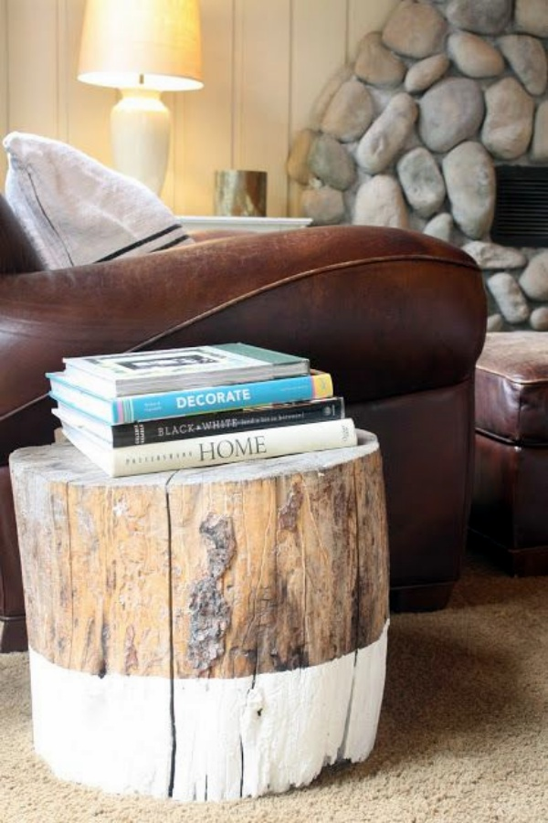 40 Smart Ass Tree Stump Decoration Ideas