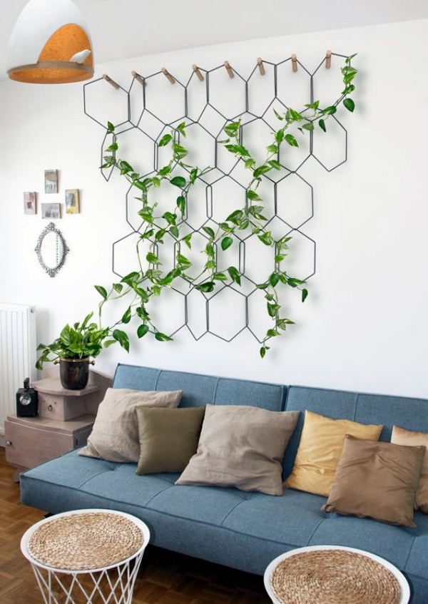 40 So Perfect Wall Hanging Plant Decor Ideas on Plant Hanging Ideas  id=43108