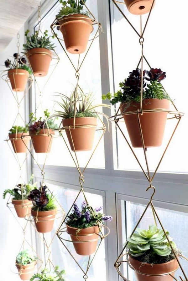 40 So Perfect Wall Hanging Plant Decor Ideas on Plant Hanging Ideas  id=93156