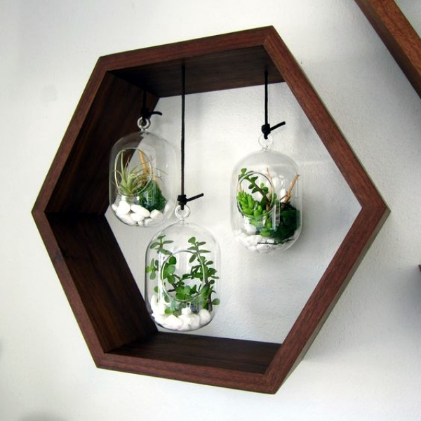 40 so perfect wall hanging plant decor ideas - Small wall decor ideas ...