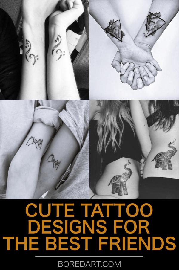 CUTE-TATTOO-DESIGNS-FOR-THE-BEST-FRIENDS