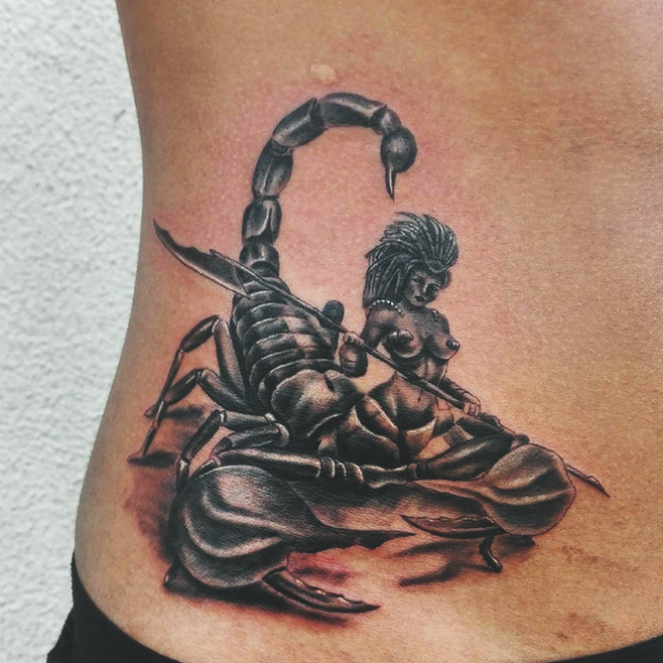 40 Scorpion Tattoos For Men And Women