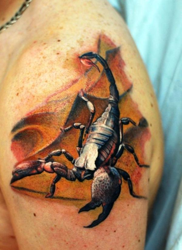 Scorpion Tattoo Designs For Women