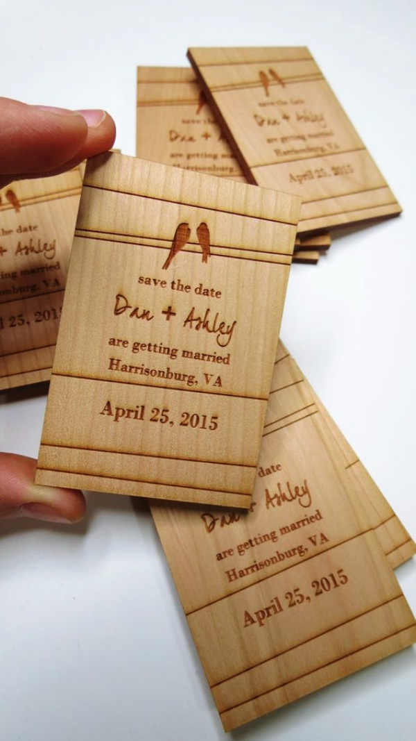 30 Creative Wedding Invitation Card Ideas Bored Art – Ideas for Wedding Invitation Cards