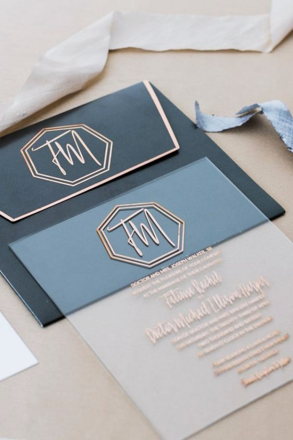 30 Creative Wedding Invitation Card Ideas - Bored Art