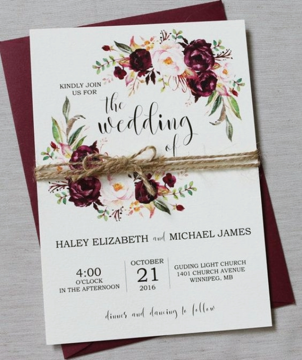 Invitation Ideas For Wedding: 30 Creative Wedding Invitation Card Ideas