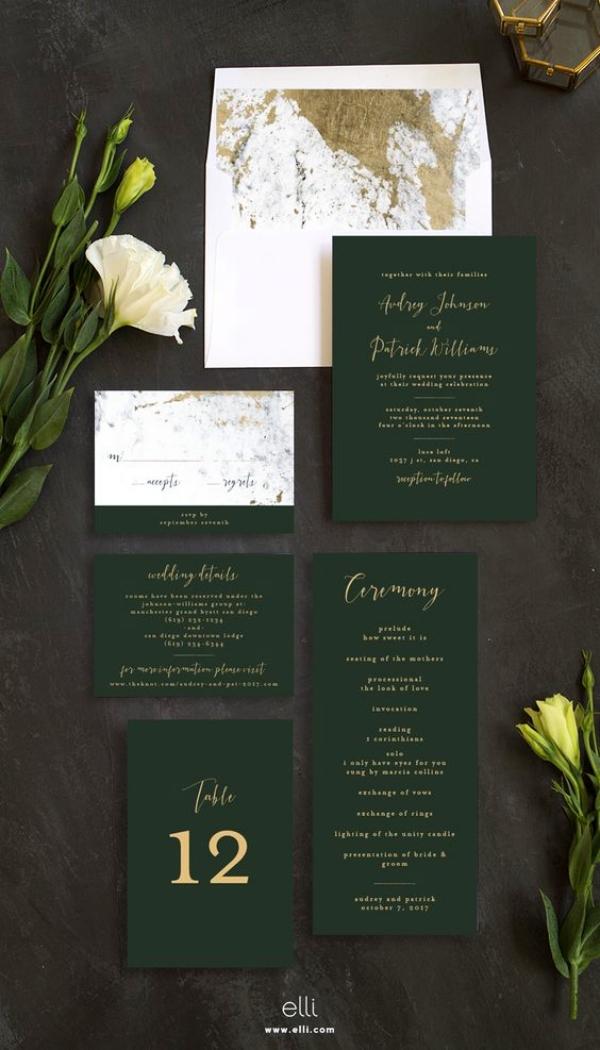 30 creative wedding invitation card ideas  bored art