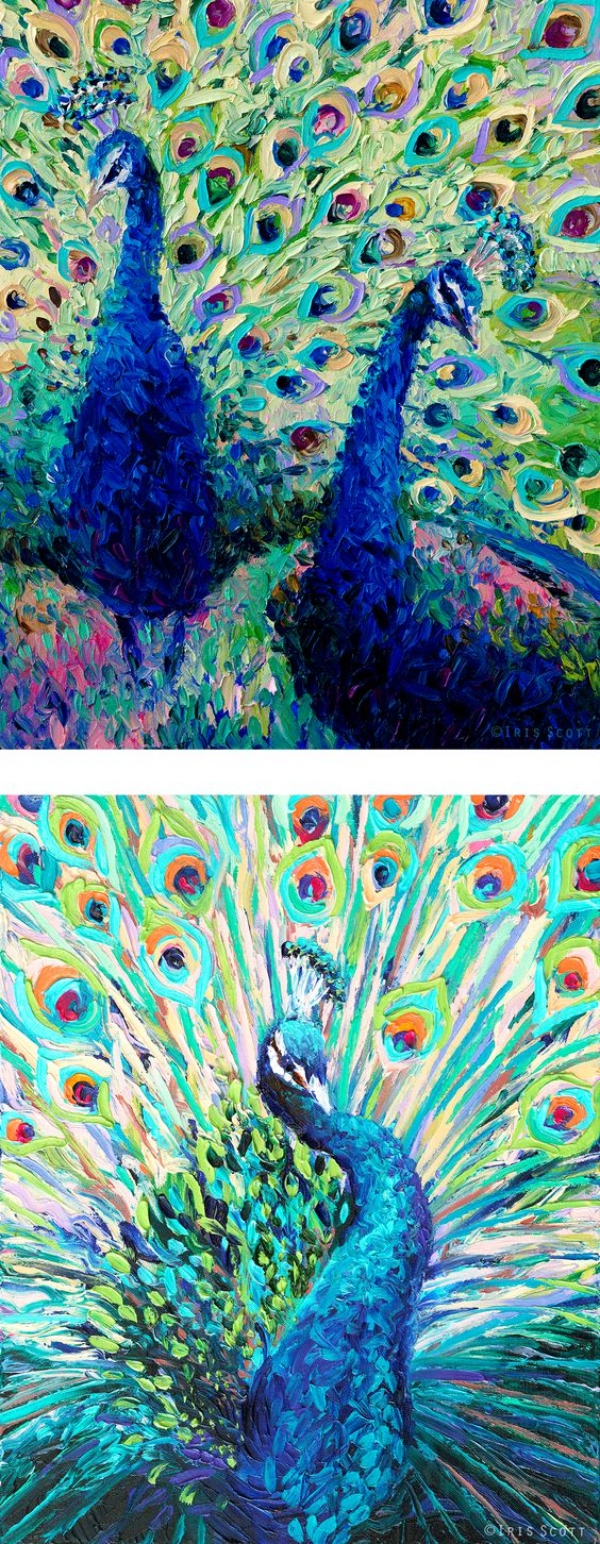 40 Insanely Creative Examples Of Finger Painting Bored Art