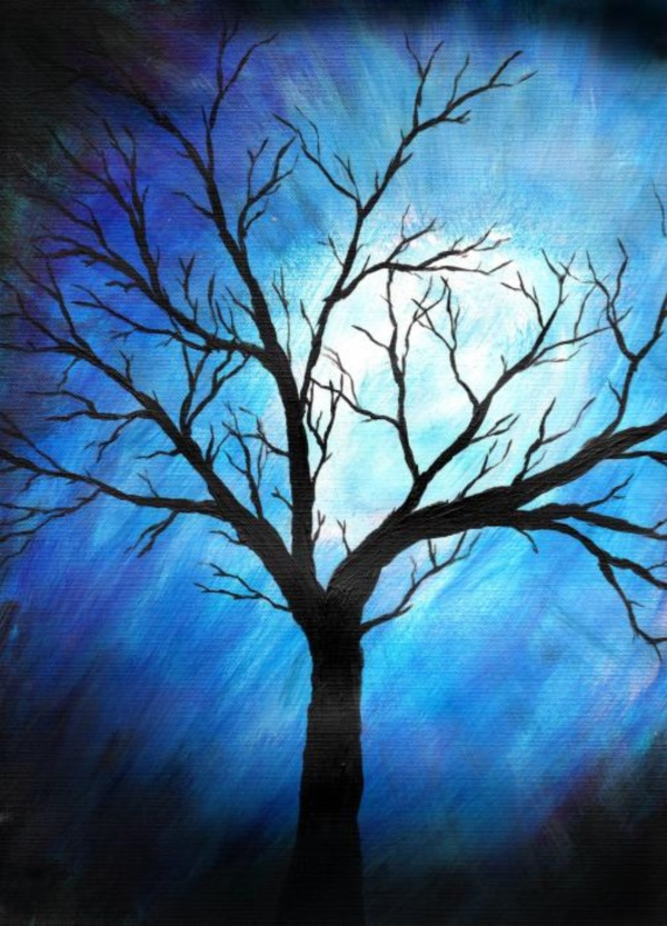 40 Beautiful Tree Art Painting Amp Art Works