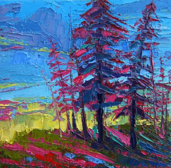 40 Beautiful Tree Art Painting Amp Art Works