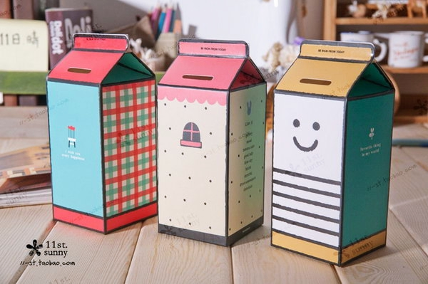 Paper Piggy Bank Craft