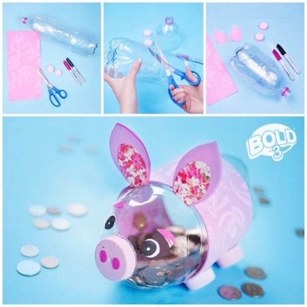 40 Cool And Useful Piggy Bank Ideas Bored Art