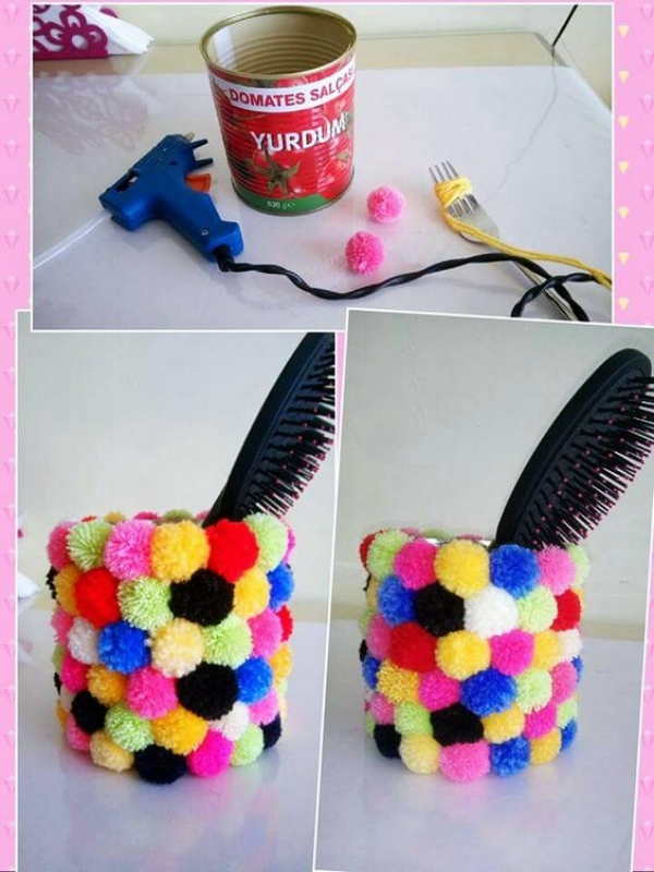 Creative-Pom-pom-Craft-Ideas