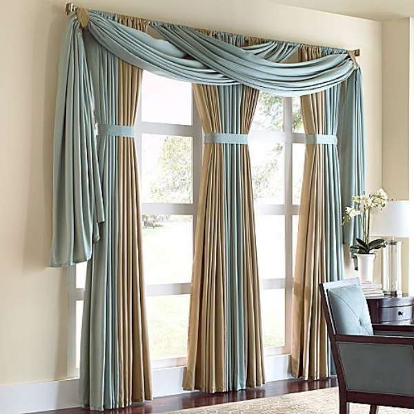 Creative Ways To Hang Curtains Curtain Menzilperde Net