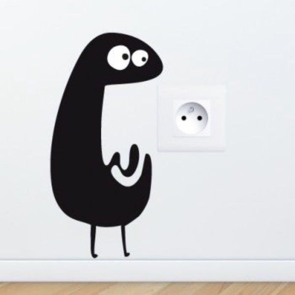 Cute-and-Creative-Home-Switchboard-Art-Installation