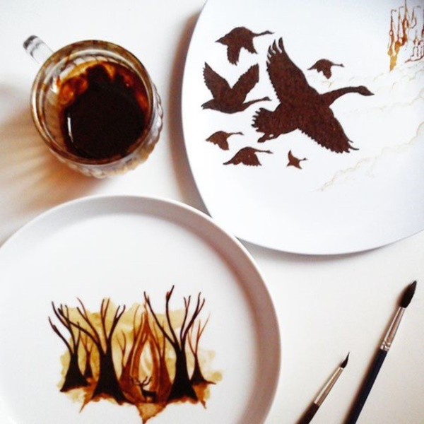 Impressive-Coffee-leaf-Paintings
