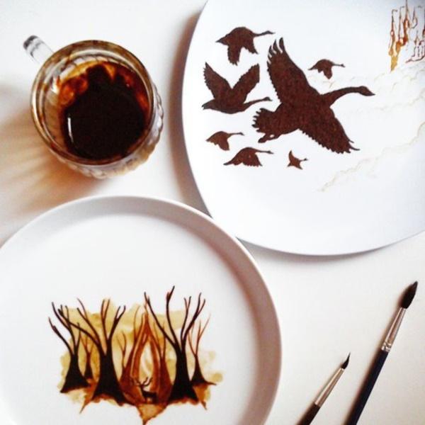 Impressive-Coffee-leaf-Paintings