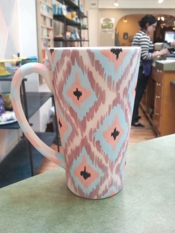 40 ceramic coffee cup designs which are out of the world for How to paint ceramic mugs at home