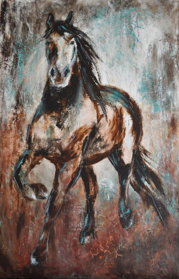 Striking Horse Paintings Like Never Seen