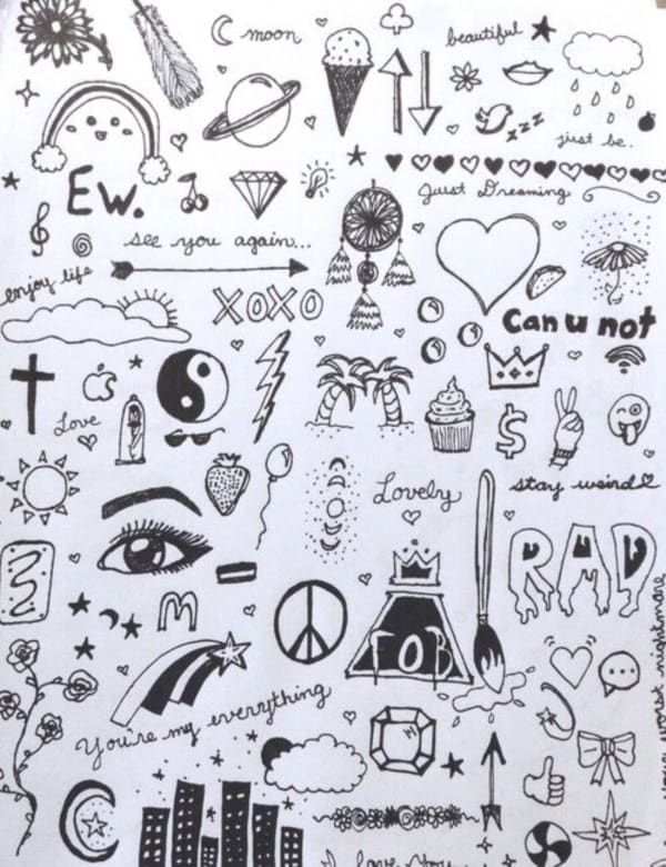 12 Easy Doodle Projects For Kids to Try - Bored Art