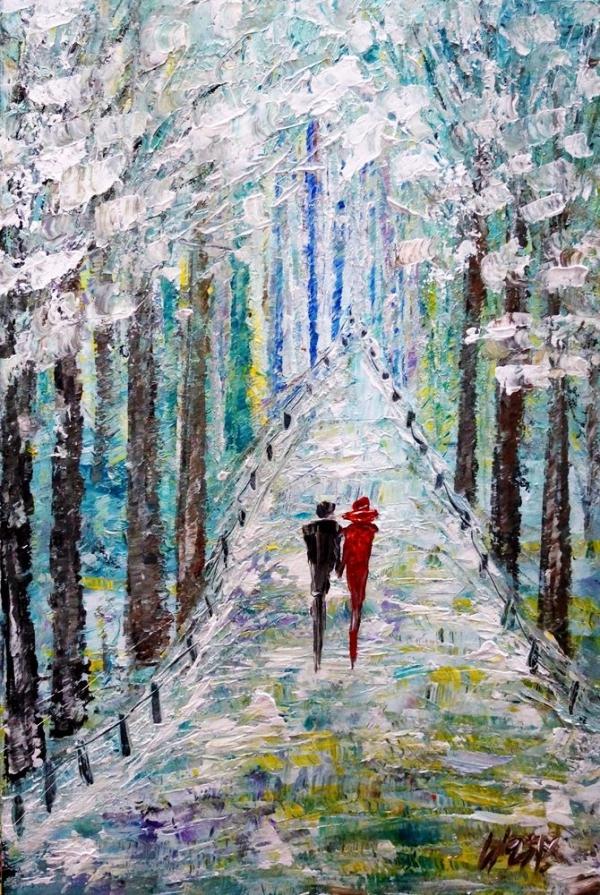 Original-Winter-Paintings-on-Canvas