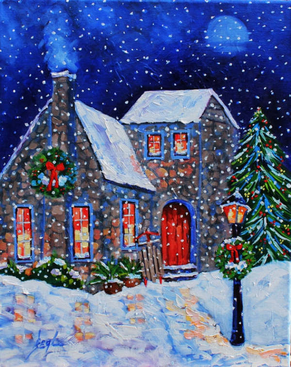 Original-Winter-Paintings-on-Canvas