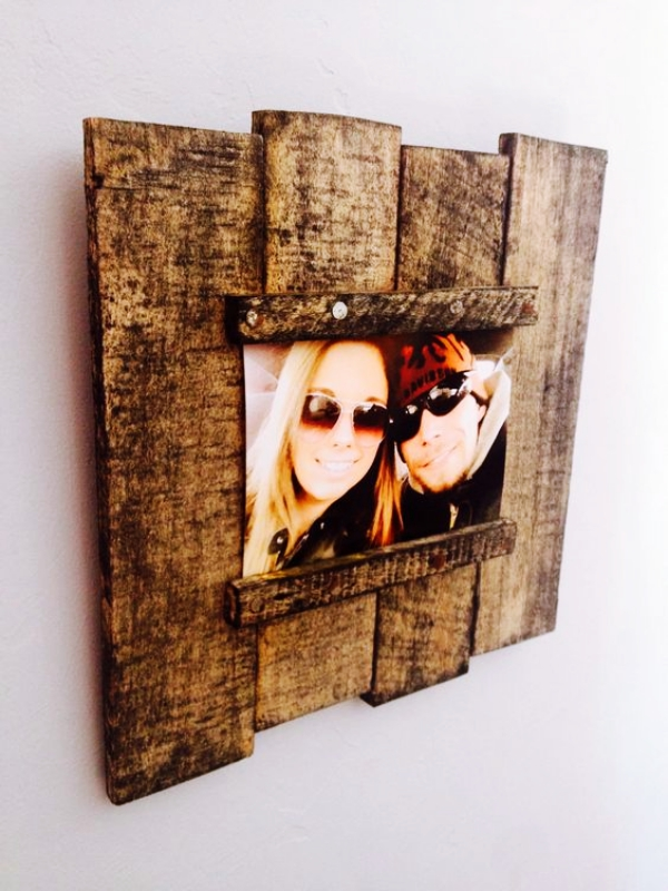 40 Beautiful DIY Photo Frame Ideas to Use in Special ...