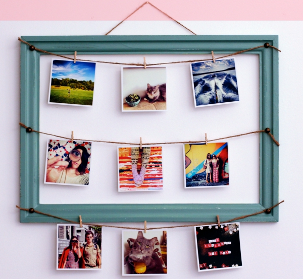 40 Beautiful DIY Photo Frame Ideas to Use in Special Moments ...
