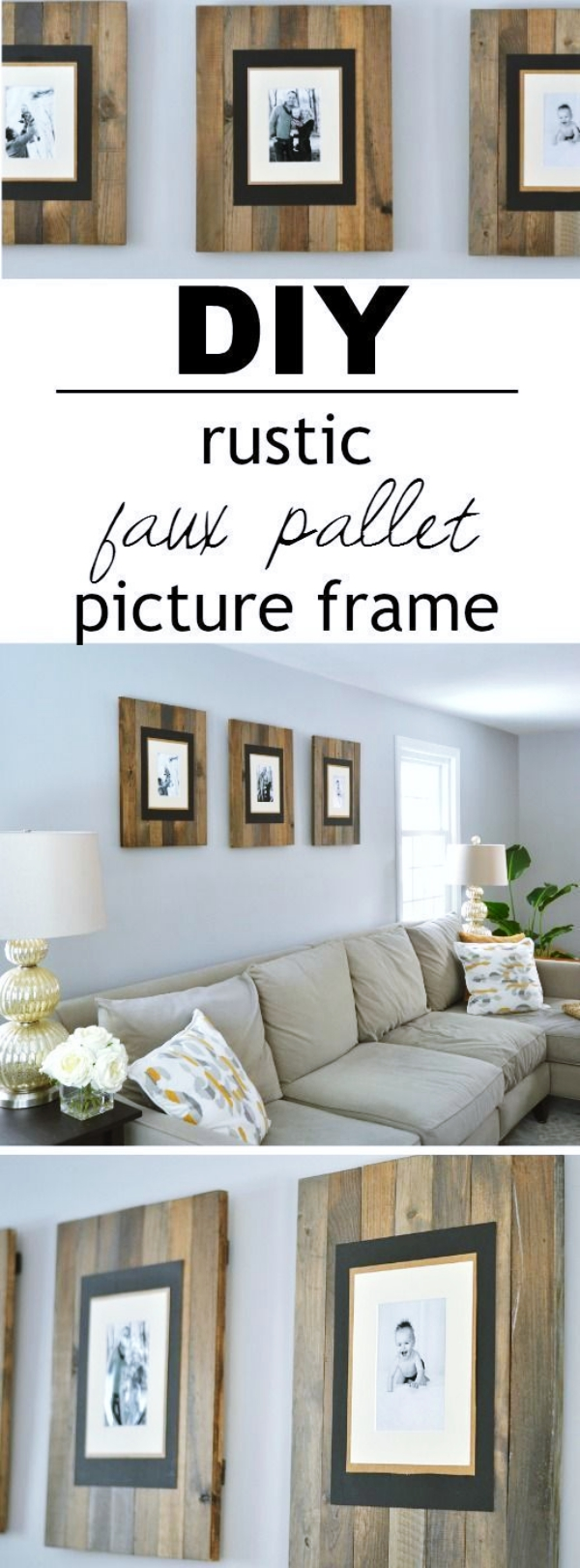 40 Beautiful DIY Photo Frame Ideas to Use in Special Moments - Bored Art