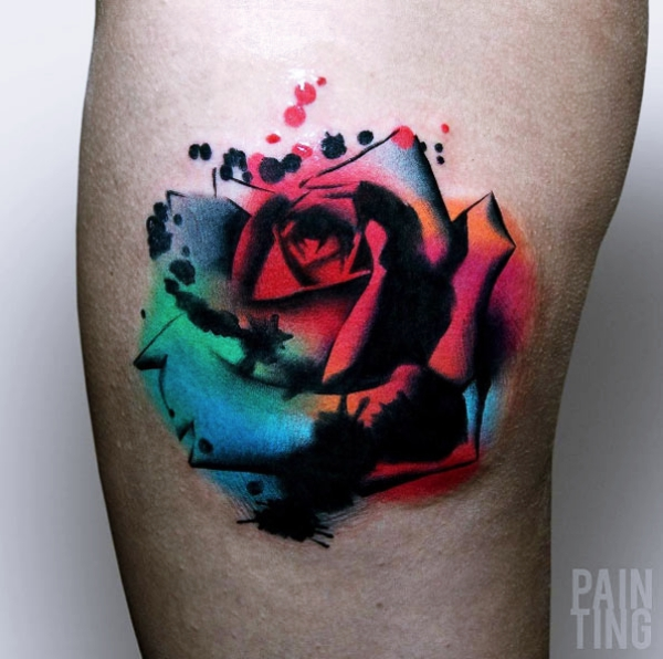40 gorgeous rose tattoo designs for women bored art for Tattoos for older adults