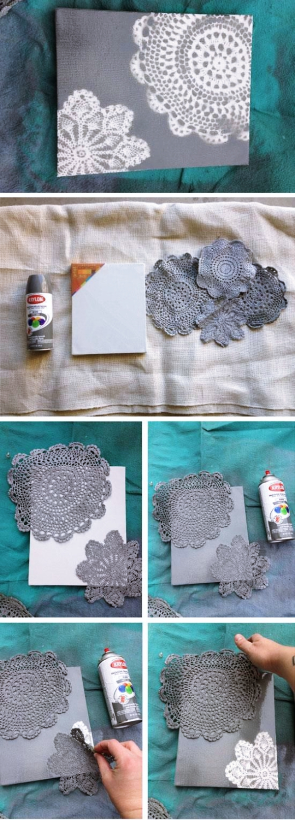 20 quick 5 minute painting projects for 2018 bored art for How to buy art for your home