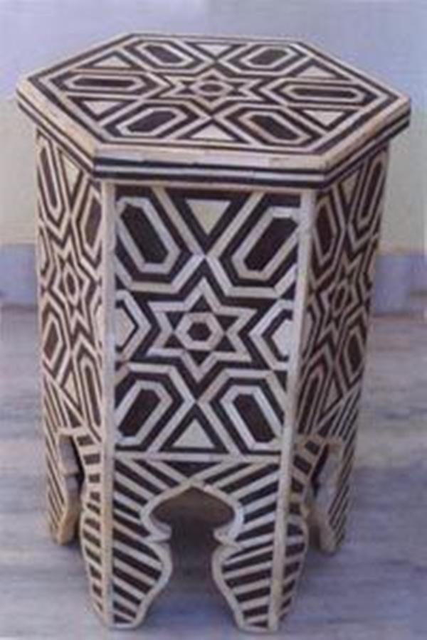 45 Creative Bone Inlay Furniture Which Will Make Your