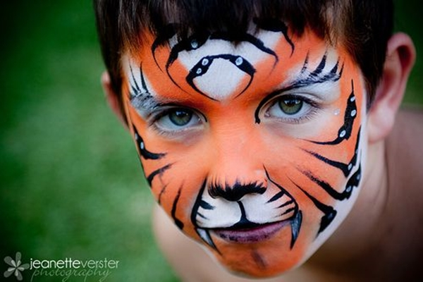easy-tiger-face-painting-ideas-fun