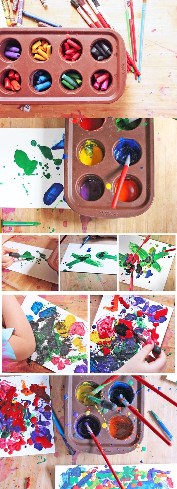 make-paint-crayons-glue