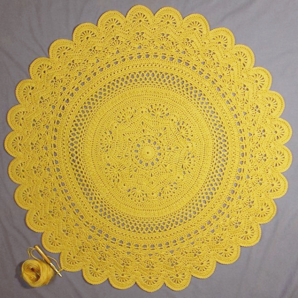 40 Complex Crochet Doily Patterns For Masters - Bored Art