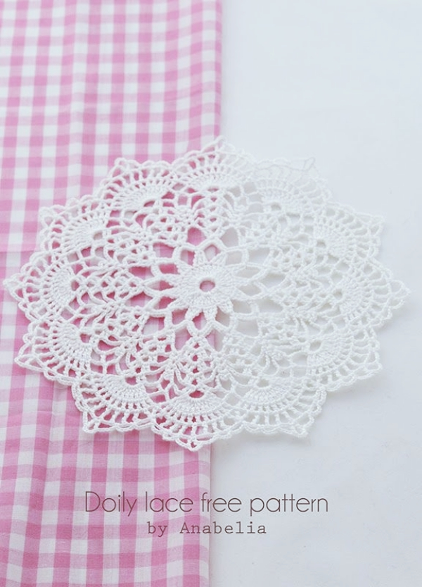 Perfect Crochet Doily Patterns Free Component Blanket Knitting